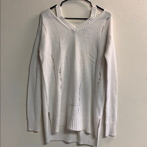Arizona open shoulders sparkly sweater size M
